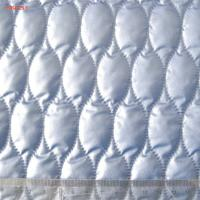 China F6031 polyester termo quilting fabric for poly wadding jacket downcoat wholesale