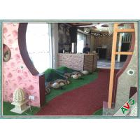 China Special C Shape Soft Gentle Outdoor Artificial Grass Decoration Fake Turf wholesale