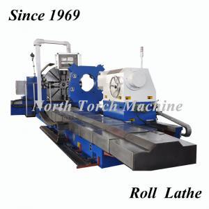 China Metal Horizontal Cnc Lathe Machine High Speed 4 Guide Rails High Stability on sale