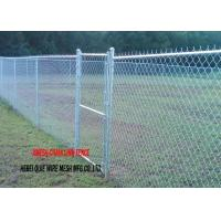 Buy cheap 4 Feet Hot Dipped Galvanized Chain Link Fence For Basketball Court A975 Standard from wholesalers