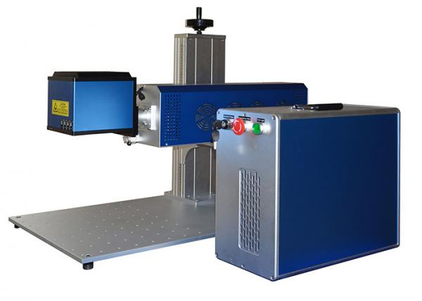 Quality Galvo CO2 Laser Engraving Machine / CO2 Laser Marker For Engraving Leather Acrylic for sale