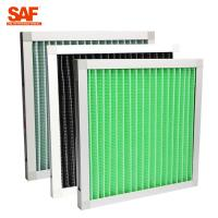 Buy cheap Primary Filtration Mini Pleat  Pre Air Filter For Air Conditioning System from wholesalers