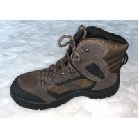 China High Ankle Winter Army Safety Shoes Genuine Suede Leather Upper For Men wholesale