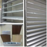 China M CITY ALUMINUM AEROFOIL LOUVER BLADE Architectural motorise sun louver wholesale