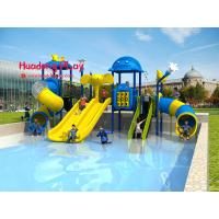 China Anti - Skid Aqua Park Equipment , Water Theme Park Equipment Kids Favorite wholesale
