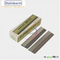 China Feather-shaped eyebrow scraping blade (Especially for makeup artist) wholesale