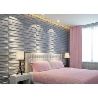 China 3D Wood Texture Wall Paper 3D Wall Tile for Kitchen / Living Room / Bedroom Wall Decoration wholesale