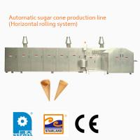 China High Speed Fully Automatic Sugar Cone Production Line With Double Layered Panel Door on sale