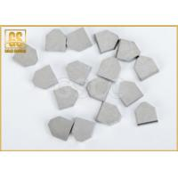 China Glossy Hard Metal Tungsten Carbide Brazed Tips High Wear Resistance wholesale