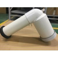 China PVC Toilet Drain Pipe With Connector , Wc Waste Pipe Large Displacement wholesale