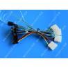 China Internal Mini SAS SFF-8643 Host To 4 SAS 29 Pin SFF-8482 Hard Disk Fanout Data Server wholesale