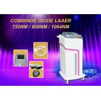 600w Diode Hair Removal Laser Machine Micro Channel 755/808/1064nm Combination