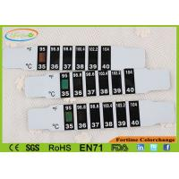 China LCD Forehead Thermometer Strip , Convenient Unbreakable LCD Thermometer Strip wholesale