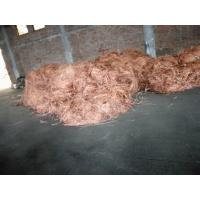 China supply copper wire scarps  in high purity min purity is 99.95%  shining brass ,colour yellow material metal on sale