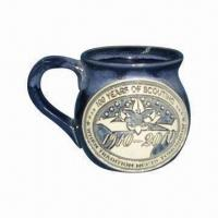 China Beer Mug with Logos, Various Sizes Available, OEM Orders Welcomed wholesale