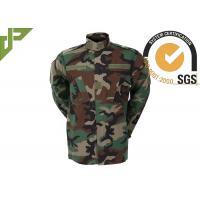 China As multi forças armadas da floresta de Camo combatem o uniforme com os bolsos internos reforçados do joelho wholesale