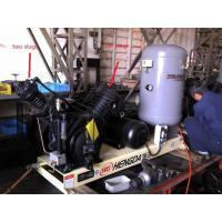 China 10HP 30Bar Piston Type Air Compressor , Low Noise Oil Free Air Compressor on sale