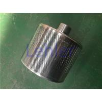 China Slot Tubes Johnson Wire Screen Perfect Roundness For Waste Water Treatment wholesale