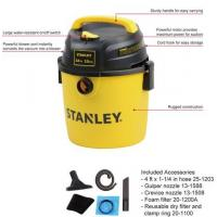 China Wet/Dry VAC SL18134p 2.5gallon/10L 3HP Portable Poly Stanley small wet and dry vacuum cleaner on sale