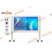 Buy cheap Floor Standing LCD Digital Advertising Player Touch Screen With Fans Cooling System from wholesalers