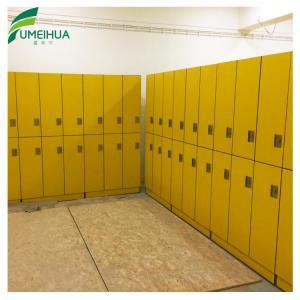 China high pressure laminate waterproof storage locker on sale
