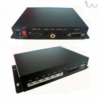 China 1080P Full HD Media Player , Digital Out Coaxial HD Video Media Player on sale