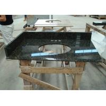 China Dark Green Uba Tuba Granite Countertops , Polished Granite Stone Countertops wholesale
