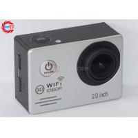 China Multi Language WIFI Action Camera For Motorcycle , HD DV 1080p Sports Camera wholesale