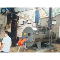 China 1500kg 1.5 Ton Oil And Gas Fired Industrial Steam Boiler For Food Processing Machinery wholesale