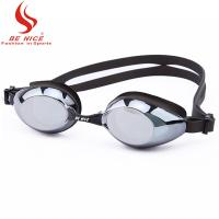 China Womens Leak Free Uv Protection Swimming Goggles Adjustable Shoulder Strap wholesale