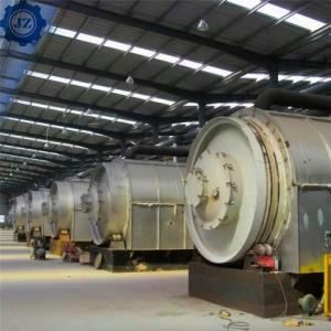 China 10Ton 20Ton 30Ton 50Ton Fully Automatic Continuous Waste Plastic Tyre Pyrolysis To Oil wholesale