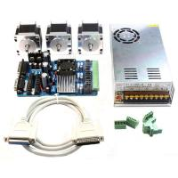 China 0.65N.M Rated Torque Stepper Motor And Driver Kit For CNC / ATM Machine / Inkjet Printer on sale
