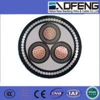 China low voltage XLPE insulated power cable /3 core cable on sale