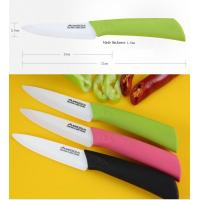 Gift & Premium Ceramic Fruit Knife with ABS+TPR Handle