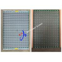 China Oil Drilling Wave Shale Shaker Screen Panels , Oil Vibrating Sieving Mesh FLC 2000 on sale