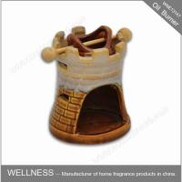China Beautiful Smelling Luxury Oil Burner , Ceramic Home Fragrance Oil Burners wholesale
