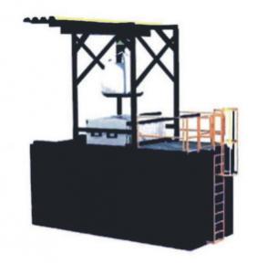 China Flexible Packing Asphalt Melting Machine Black Bitumen Drum Melting Unit wholesale
