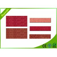 China Durable multicolor flexible wall tiles for exterior decoration acid-resistance wholesale