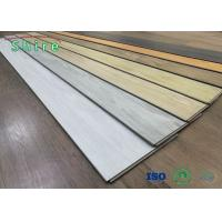 China Bathroom SPC Rigid Core Vinyl Flooring With Variety Of Looks / Textures And Styles wholesale