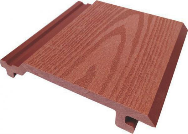 Quality Fireproof WPC Wall Cladding / Plastic Wood Composite Cladding For Outdoor for sale