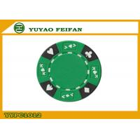 China Professional Composite 13.5 Gram Numbered Poker Chips With Custom Printed wholesale