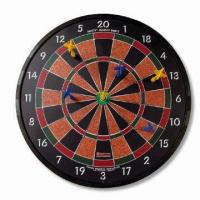 China Safety Dart Board, Made of Magnet and Plastic, Different Sizes are Available wholesale