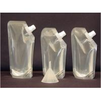 China Transparent 3 Layers Laminated Material Clear Plastic Pouches For Liquids wholesale