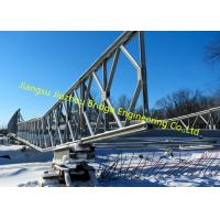 China Prefabricated Delta Modular Bridge System Standardised Interchangeable Steel Components Support wholesale