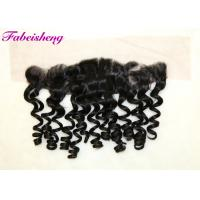 China Loose Wave Lace Front Closures For Weaving , Lace Frontal Closure Ear To Ear wholesale