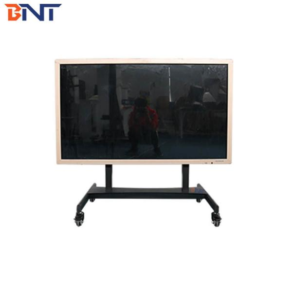 Quality electric lifting type floor mobile TV bracket 60-125cm lifting height BNT-W100 for sale