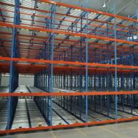 China Roller Conveyor Stacking Pallet Storage Racks / Steel Material Pallet Racking System on sale