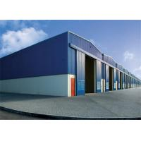 China Modern Steel Frame Storage Buildings Non Combustible 50mm -150mm Thickness wholesale