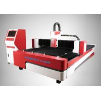 Buy cheap High Power Aluminium Stainless Fiber Laser Cutting Machine For 6 - 8mm SS , CS , MS from wholesalers
