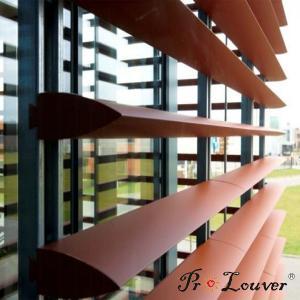 China Hot sale deluxe Aerobrise sun louvers, architectural exterior sun louver wholesale